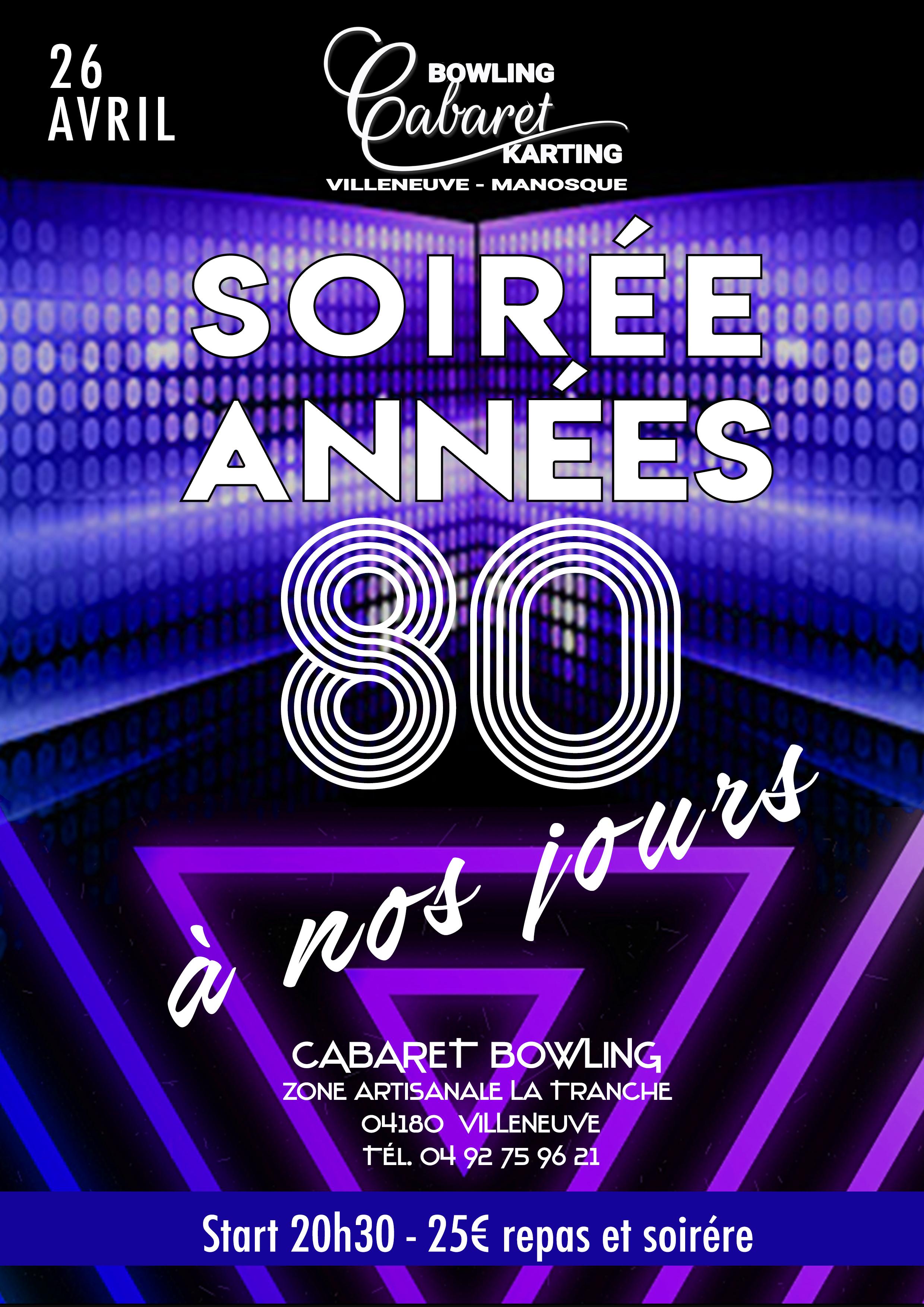 ANNÉE 80 À NOS JOURS