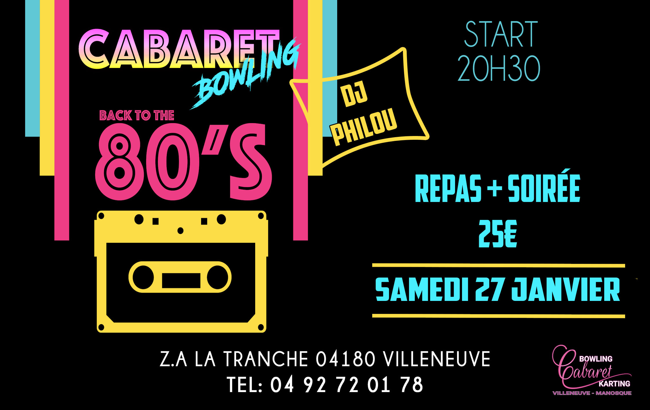 Back To Année 80 Party